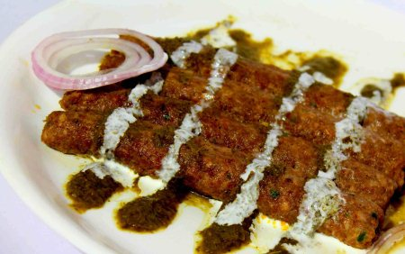 Try the best of kababs in town, cooked fresh on the bar-b-que - by Nazeer, West Delhi