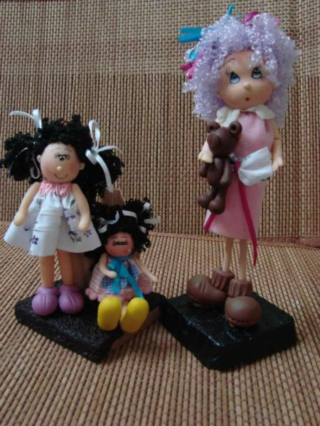 Polymer Clay Dolls Made With Air Dry Clay - by Polymer clay, Hyderabad