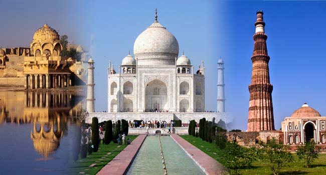 Description  The enthralling tour through the three vibrant cities-Delhi, Agra and Jaipur also known as the Golden triangle. Enjoy the trip that treasures the opulent vista of life! Allow the trip to acquaint you with the cultural, historic - by MakeMyYatra, Hyderabad