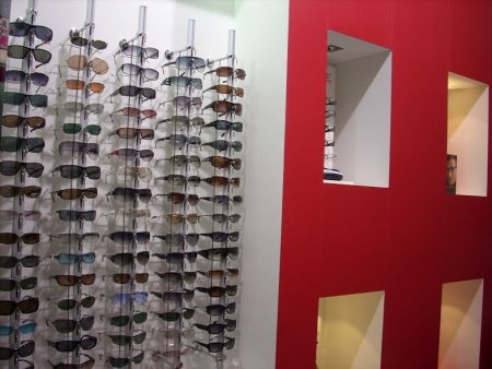 We deals with Brands Like Ray-Ban, Fast Track, Gucci and also we are are the Authorized dealers for Ray-Ban and Fast Track in Hyderabad.   - by New Arihant Opticians, Hyderabad