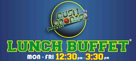 LUNCH BUFFET 12:30pm -3:30pm - by Rush Sports Cafe & Bar, Hyderabad