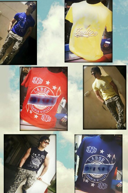 New cargos @ 800 only Tshirts  @ 300 only - by Try us | House of Fashion Brands, Gurgaon