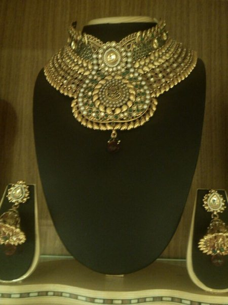 Designer Necklace sets. - by Shringar - The Ethnic Designer Shop, Hyderabad