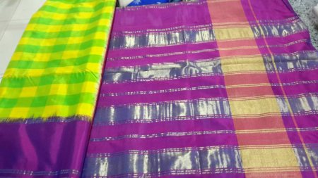 Ikkat Pattu Sarees Available at affordable prices - by SREE AKSHAY DESIGNERS, Hyderabad
