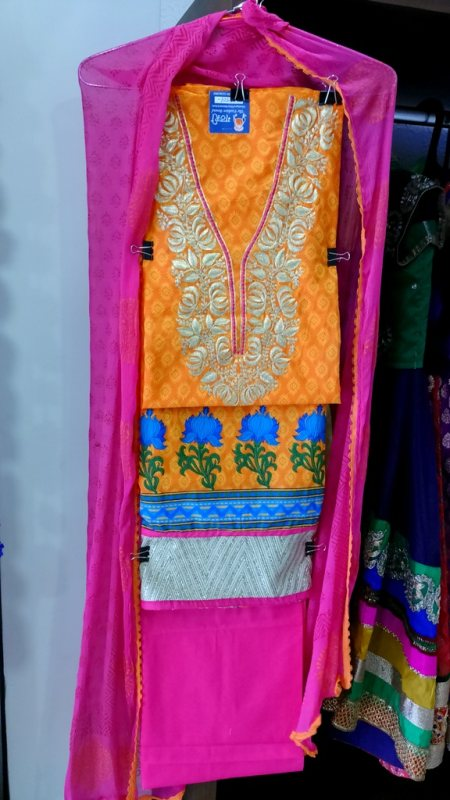 Designer Dress Materials At Ahmedabad. - by Gathari Boutique The Fashion Bound, Ahmedabad