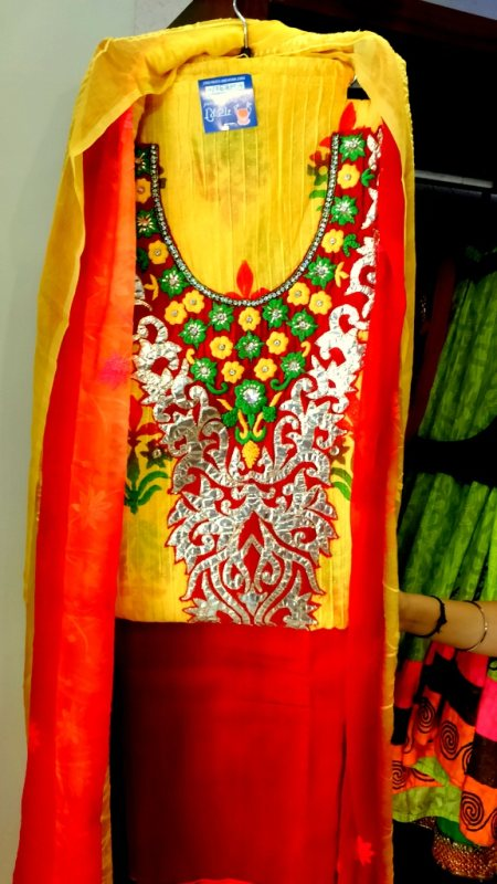 Dress Material - by Gathari Boutique The Fashion Bound, Ahmedabad