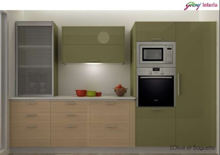 #Godrej #Interio #Modular #Kitchen #Solution - by Technocrats Interio, Hyderabad