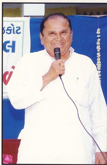 Chairman Of Donakiya Group - by Buniyad Highschool, Rajkot
