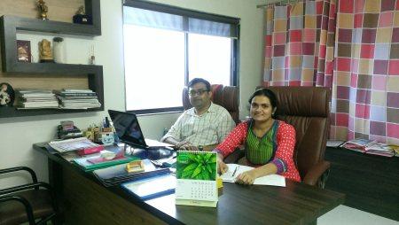 DR RADHIKA JAVIA AND DR GUNJAN JAVIA - by Bhakti women's Hospital, Rajkot