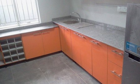 Kitchen cabinet with marble top. - by Classic Marble Multi Concept Limited, Lagos