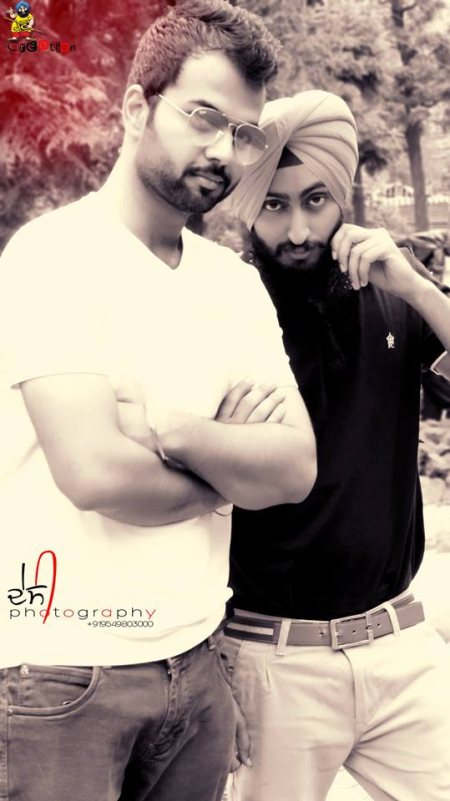 In Pic _ Gagandeep Singh Toor & Yankee Desi  To reserve your photography session owning ਦੇ C - Desi Creation communicate with Admin Yankee Desi .  Contact No. - 9549803000 — with Gagandeep Singh Toor and Yankee Desi. - by Desi Creation, Sri Ganganagar