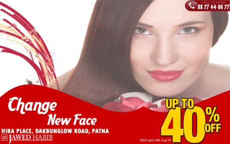 Call 8877446677 Hira Place Jawed habib & avail discount on Facial , Spa , Colour , Pedicure