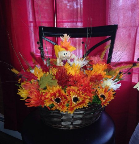 Custom Fall Arrangement Starting At $35 - by JMJ Custom Floral, Penobscot County