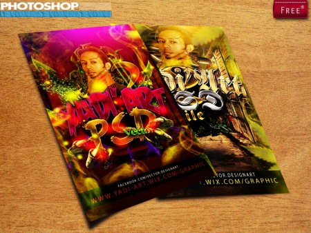 Flyer 4x6 300 DPI CMYK || Layer PSD || Model Not Included - by DesignArt, Tangerang City