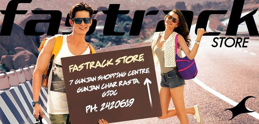 Beg, borrow, bum a ride. ANYTHING to get to the New Fastrack Store near you! - by Fastrack Store - Aundh, Pune, PUNE