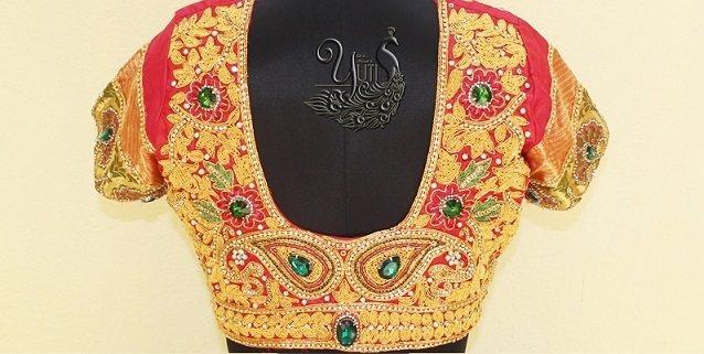 Bridal Blouse 1 - by Yuti, Chennai