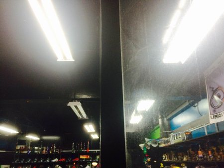 """As you can see, the window on the left has been cleaned by SNS. No streaks! The right however has been untouched, and bares """"A Noticeable Difference!"""" - by Sparkle 'N Shine, Tumon"""
