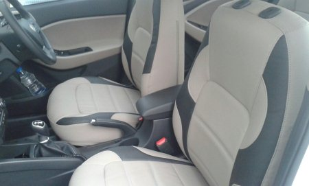 All new hyundai elite I 20 interiors getting decked up with autoform dry feel seat covers.