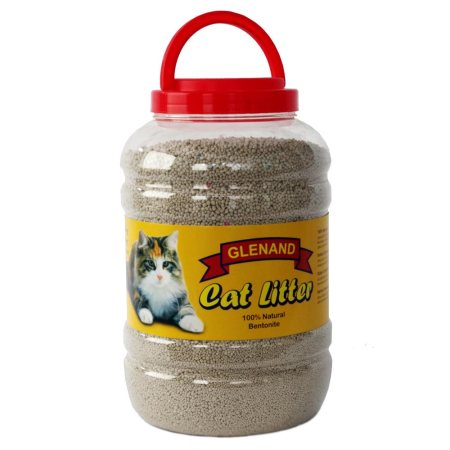 Natural Bentonite clay. Quick and easy clumping. Odourless and safe.  - by Glenand Pet Store - Koramangala, Bangalore