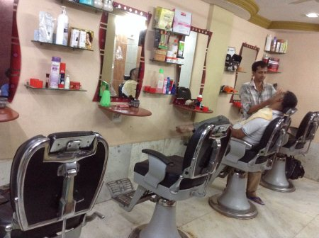Now special Diwali offer for men's hair cutting in 10% off - by Salooni Hair Dresser, Ahmedabad