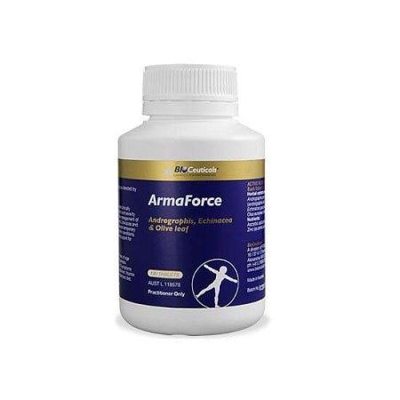 产品名稱:BioCeuticals ArmaForce 终极免疫力增加片  产品介绍:BioCeuticals ArmaForce 终极免疫力增加片由多种不同強力草本精华和營养,针对傷風、感冒及上呼吸道感染。BioCeuticals 提供高素质的草本精华和提取法,確保不会由於品种差异和低劣提取法所引致产品失效的常見問题。  Andrographis 穿心蓮 穿心蓮除了人所共知免疫力增强作用,研究指出在感冒初期(一到兩天內)服用,还能有效地减少喉咙腫疼,咳嗽发烧等感冒徵狀和缩短 - by Zilok The Smuggler, Melbourne