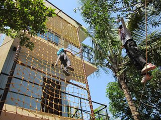 Best Adventure Activities and Adventure Zone mote Excited Games in Hyderabad on Resorts. - by Summer Green Resorts, Hyderabad