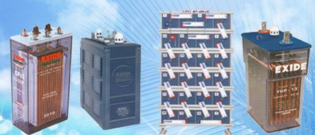 EXIDE 2 VOLT CELLS BATTERIES  For stand by duties in Power Plant, Transmission & Distribution Substations, Switchgear Operations, UPS systems for critical operations – Plante, tubular, VRLA batteries are used. Plante batteries have an expected service life is greater than 20 years when operated on float or trickle charge at 25°C. The capacity retained at 100% throughout the life span and therefore no ageing factor.  Exide's range of 2 Volt Cells are the nerve center of Power Plants and major Infrastructure related Utilities across the country.  If you getting a call waiting while you calling to us please leave us a Message from MAKE AN ENQUIRY