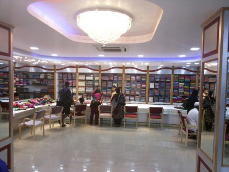 Exclusive showroom - by AniKauvery silk and handicraft Bhandar, mysore