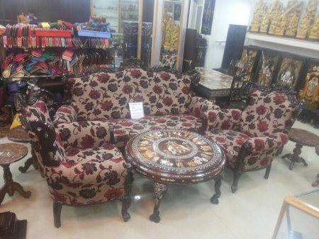 New sofa set - by AniKauvery silk and handicraft Bhandar, mysore