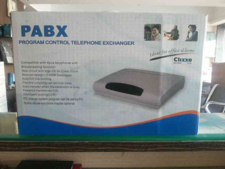 PABX program control telephine system for inter communication We are the authorised dealer for PABX. - by Moulika Tech, Hyderabad