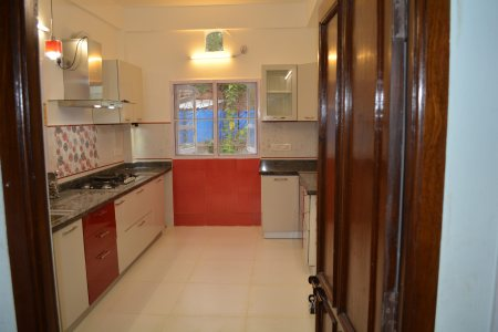 A Completed Godrej Interio Modular kitchen project by us M/s Technocrats - by Technocrats Interio, Hyderabad