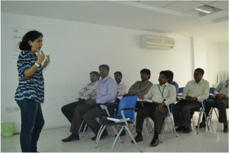 Workshop at Infotech, Kakinada. #Corporate Training. - by The Launch Pad, Visakhapatnam