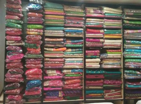 Gorgette saree's , chiffon Saree's, wholesale manufacturer in ahmedabad