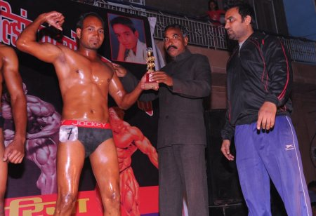 Our Rising Star.Mahendra Nath won trophy for Senior Mr. Jodhpur Bodybuilding Competition. January 11 in Jodhpur City, Rajasthan, India Mahendra Nath won trophy for Senior Mr. Jodhpur Bodybuilding Competition held in 11 January 2015 at jod - by MUSCLES THE GYM ~Inspiring Healthy Life, Jodhpur