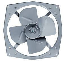 •	Exhaust Fan: The fan which is used to control the interior environment by venting out unwanted odors, particulates, smoke, moisture, and other contaminants which may be present in the air.Exhaust fans can also be integrated into a heatin - by SHIV NATH ELECTRICO CO REGD, Gurgaon