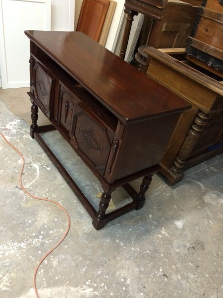 This has been refinishing - by Luis & Son Wood Refinishing, Montgomery County