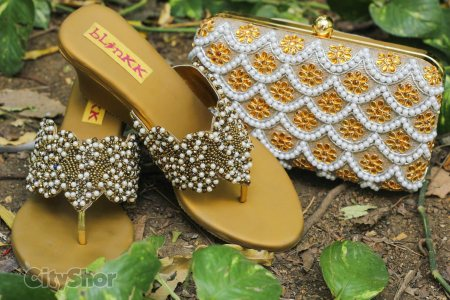 GOLDEN PEARL WEDGES PEARL