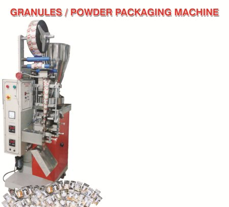 pouch packing machine manufacturers - by Rajesh Enterprises, Hyderabad