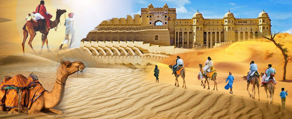 The colorful state of Rajasthan is known for its intriguing culture, art, unique style archeitectural of mughal and royal buildings forts, palaces and havelies. This amazing state of Rajasthan is visited by thousands of tourist from all ove - by Ghoomloduniya, Delhi