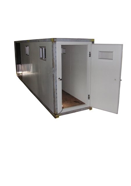 We are engaged in offering superior quality cold storage rooms . These rooms are designed and developed in accordance to customer's needs and fabricated with modulated panels, insulated with injected polyurethane(PUF) or polystyrene foam(EPS). Every part and component used in these cold stores are of a top-quality and guaranteed to stand up under the most demanding conditions. Our cold stores are equipped with integrated Refrigeration equipments and Electronic system designed for better storage condition control and energy savings.
