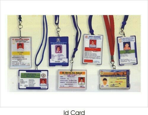 We are well-acknowledged as the most reliable id Card Manufacturers, Exporters and Suppliers located in Delhi. Our exclusive range of id Card is manufactured using high-grade id sheets and highly appreciated for features like durability, water resistance, high tear strength, super finish, etc. These id Card are available in numerous sizes and designs to meet the requirements of the clients. Also, we personalize these cards according to the specific details provided by the clients. Avail from us, bulk quantities of these id Card at market leading rates. Thus, we are reckoned as the trusted Pvc Id card Manufacturers in the market.