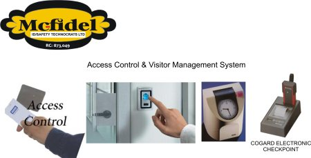Access Control Systems Information  Access control systems are usually used to ensure every individual granted access to secured facilities is identified. Regulating access to secured areas is one of the vital needs of virtually every organ - by Mc-Fidel ID & Safety Technocrats Limited, Lagos