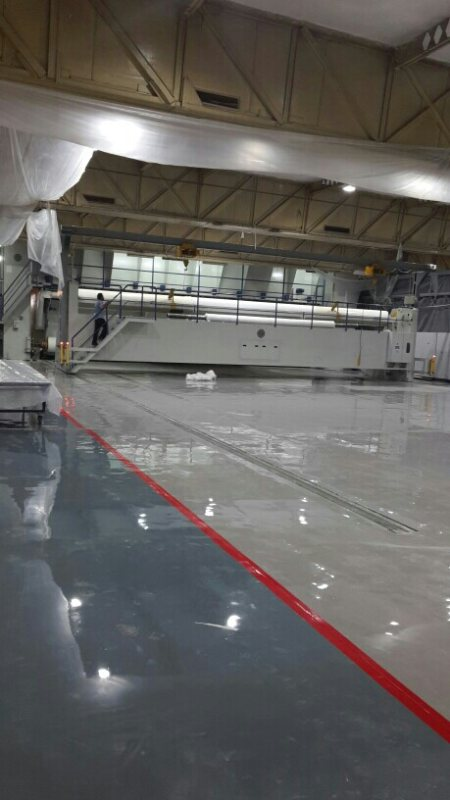 Epoxy work at site. - by Blue Sky System Pvt Ltd, Delhi