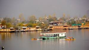 "Srinagar, the ""Paradise on the Earth "" is the capital city of Jammu & Kashmir is nestled  at the banks of Jhelum River. The serenity of Dal Lake and panoramic view of hills covered with pine trees & valleys makes it the major tourist attraction in India. The Houseboats besides the Dal lake add dazzling view at its backdrop. Beside this,  the Gardens of Mughals – Nishat Bagh, Shalimar Bagh and Chasme-eh- Shahi boast the Persian style architecture and gives breathtaking view of the combination of  fountains, canals and  pools and from here one can get the alluring view of Dal lake with Shikara rides floating overing it."