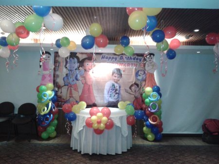 Ballon Decoration - by Magic Events, Kolkata