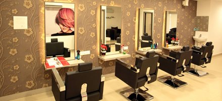 Soft, muted lighting, colors playing gently on your senses; music caressing your soul; an ambiance that eases your stress while it elevates your mood... The soft hum of the latest beauty devices, and the heady fragrance of the world's most  - by Lucas salon, Hyderabad