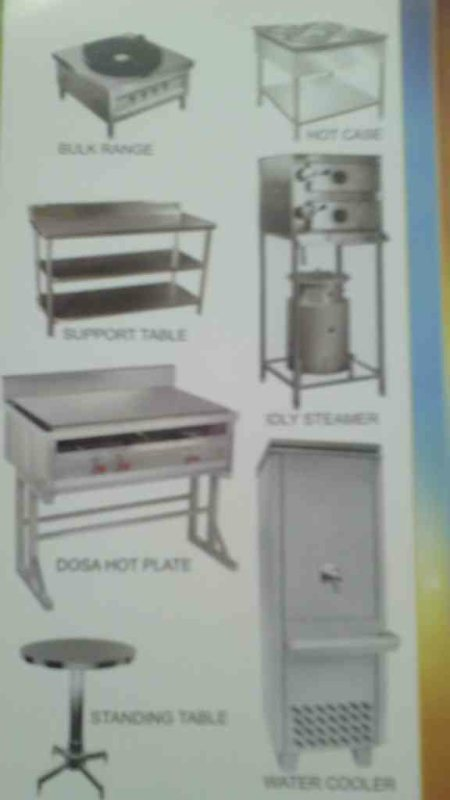 Commercial Kitchen equipments manufacturers in hyderabad  - by Steel Faab, Mahabubnagar