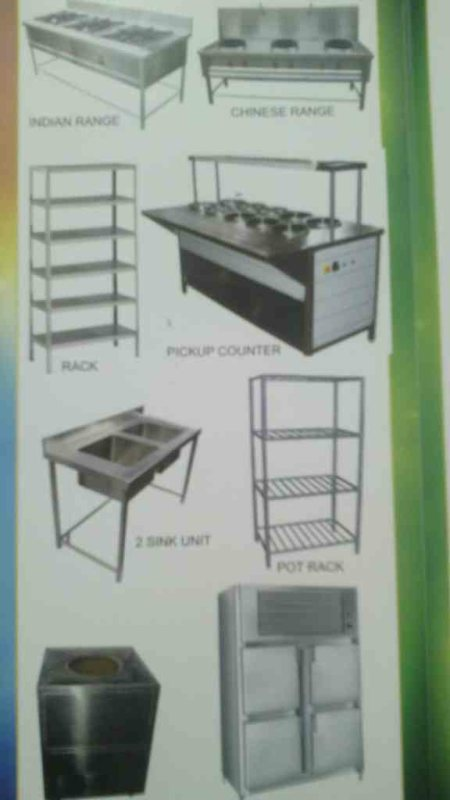 Hotel equipment in Hyderabad Hotel equipment manufacturers in hyderabad - by Steel Faab, Mahabubnagar