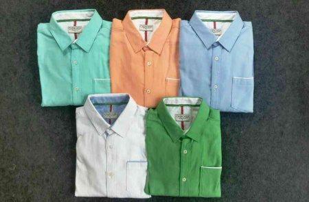 Linen full sleeves shirts. - by R K Clothin, Ahmedabad