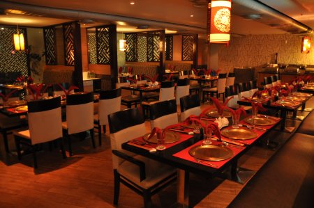 Two restaurant  at one location lunch by The Buffet, dinner by Marco-polo. A large spread of global buffet where soups, chicken wings, tawa chicken, tandoori chicken, fish fry, chilli fish, paneer tikka, veg spring roll, crispy fried vegeta - by China By Marcopolo, Hyderabad